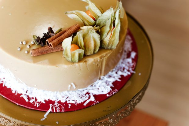 Palm Sugar & Chai Latte Cake