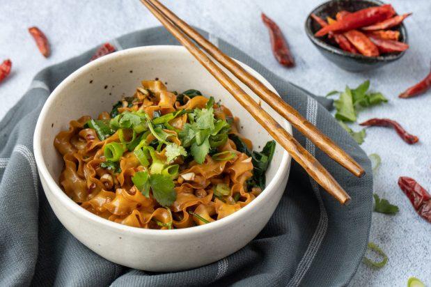 Vegan Hot Oil Noodles (You Po Mian)