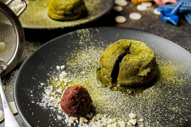 Matcha Green Tea Lava Cake