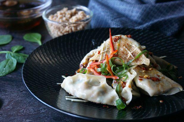 Vegetarian Chinese Dumplings