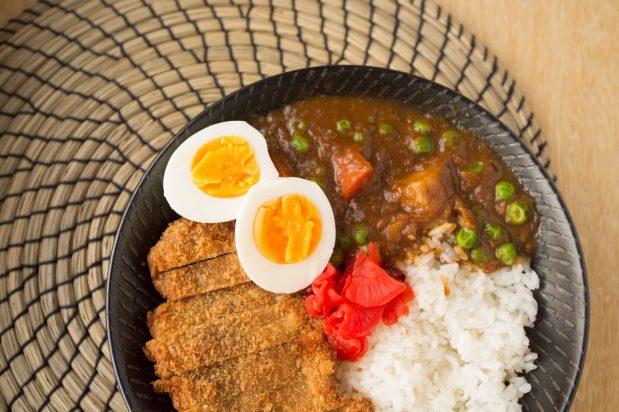 Pork Cutlet with Curry Sauce (Pork Katsu Kare)