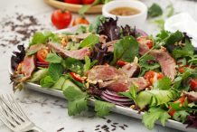 Thai Beef & Riceberry Salad