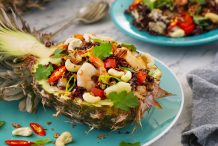 Pineapple Fried Riceberry Rice