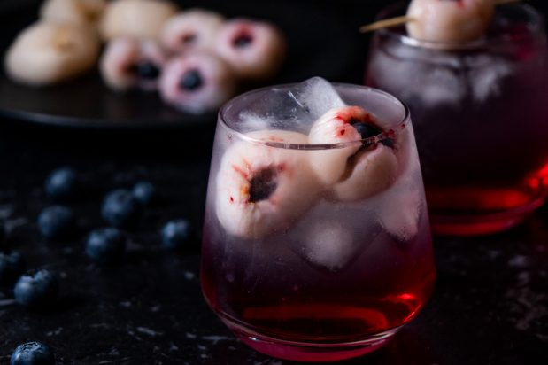 Halloween Lychee Cocktail