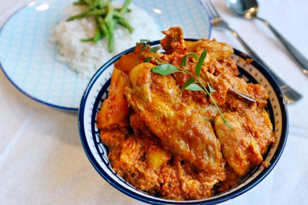 Devil's Curry Chicken