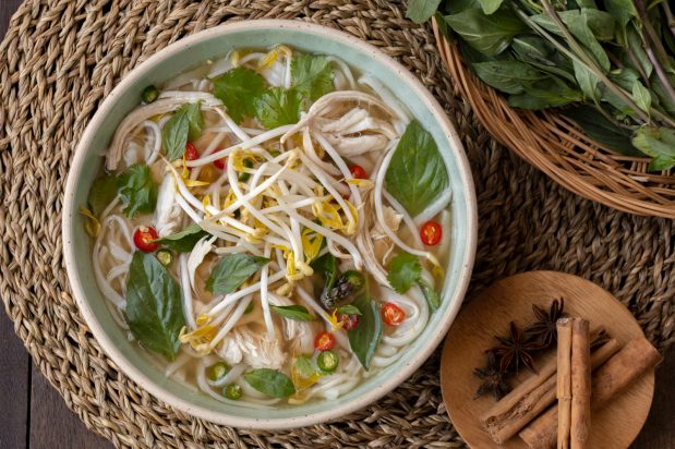 30-Minute Chicken Pho