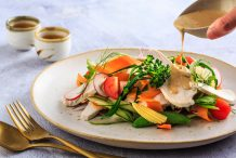 Poached Chicken Breast Salad