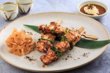 Yakitori with Miso Mayo