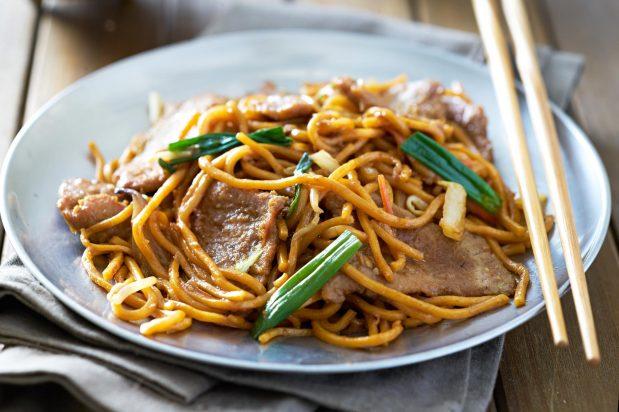 Quick & Easy Stir-Fried Beef Noodles