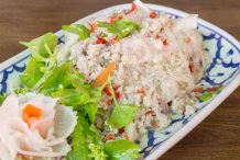Thai Glass Noodle Salad with Mince
