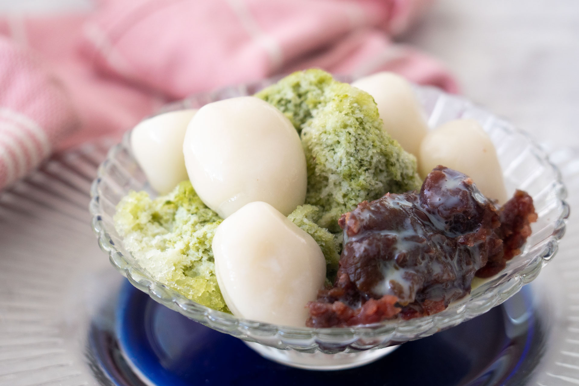 Green Tea Shaved Ice (Ujikintoki Kakigori)   Asian Inspirations
