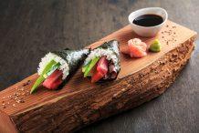 Cone Style Sushi (Temaki)