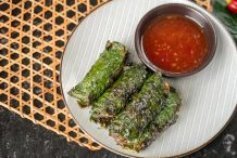Grilled Beef in Betel Leaf (Bo La Lot)