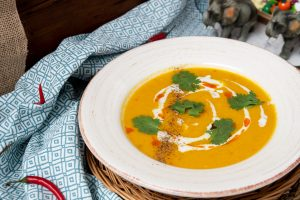 Thai Red Curry Pumpkin Soup
