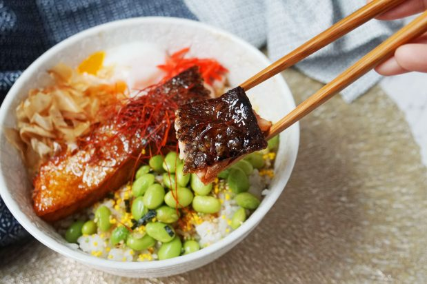 Salmon Teriyaki Bowl