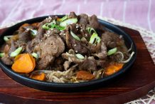 Genghis Khan Barbecue Lamb