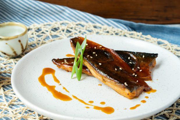 Miso Simmered Mackerel (Saba Misoni)