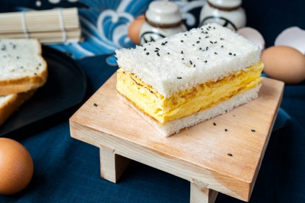 Japanese Egg Roll Sandwich (Tamagoyaki Sandwich)