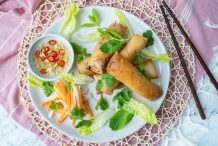 South Vietnamese Spring Rolls (Cha Gio)