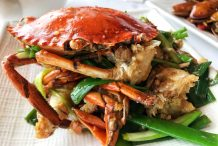 Hong Kong Style Ginger and Spring Onion Crabs