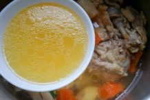 Torigara Stock (Chicken Carcass Soup)