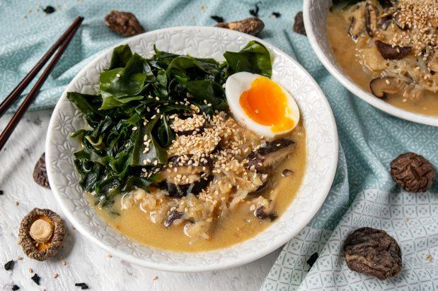 Vegan Shirataki Ramen