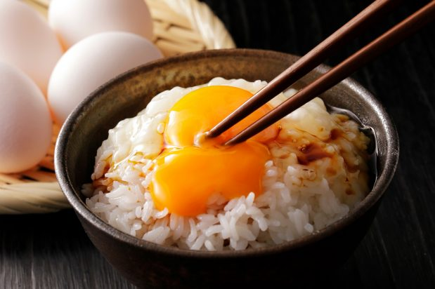 Egg on Rice (Tamago Kake Gohan)