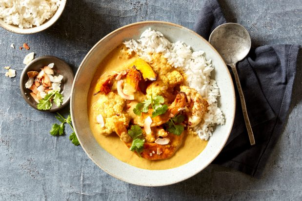 Thai Vegetarian Yellow Curry
