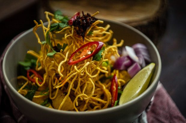 Northern Thai Curry Noodles (Khao Soi)