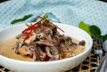 Thai Beef Jerky in Coconut Gravy (Nhur Khem Tom Kati)