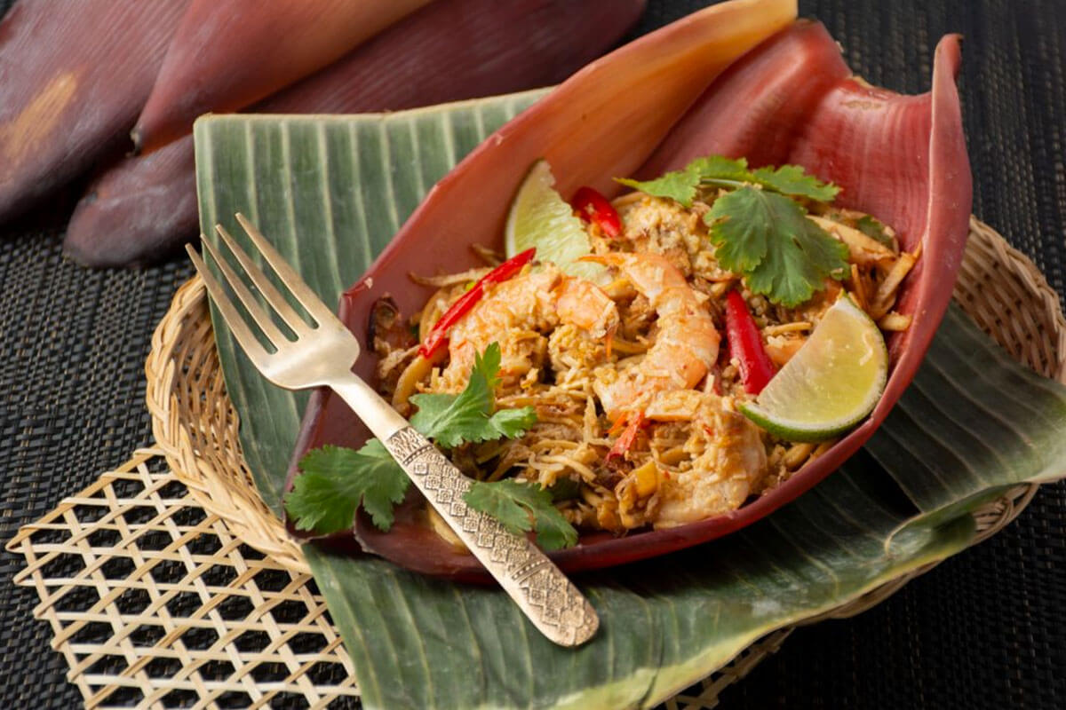 Have A Full Course Meal of Fruity Thai Dishes