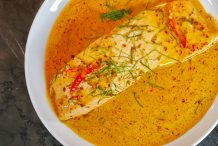 Creamy Red Curry Salmon (Choo Chee Salmon)