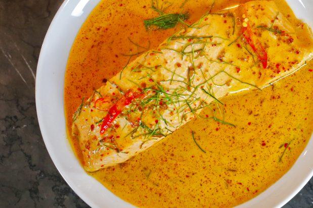 Creamy Red Curry Salmon (Choo Chee Salmon)