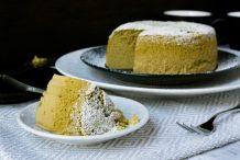 Japanese Matcha Cotton Souffle Cheesecake