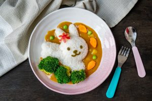 Cute Japanese Curry for Kids