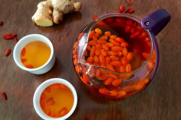 Goji Berry Ginger Tea