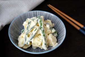 Boiled Potato and Green Bean Salad with Wasabi Mayonnaise