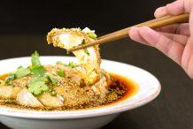 Sichuan Mouthwatering Chicken in Chilli Oil (Kou Shui Ji)
