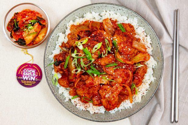 Korean Kimchi Pork
