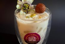 Coconut Tapioca with Lychee & Passionfruit