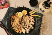 Sesame Tofu & Sweet Corn Ramen
