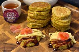 Mini Japanese Pancakes (Okonomiyaki)