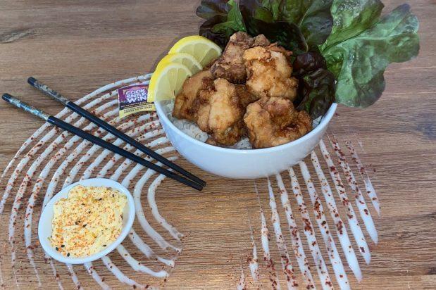 Karaage with Rice