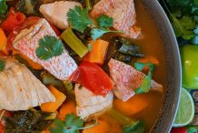 Spicy Thai Fish Soup