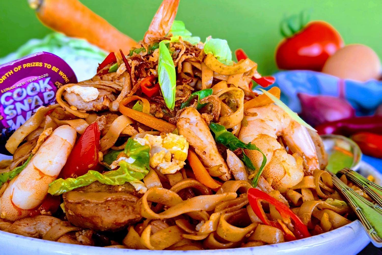 Mie Goreng Jawa Javanese Fried Noodles Asian Inspirations