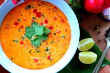 Thai Red Curry and Chicken Soup