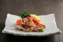 Wasabi Chicken with Mashed Potato