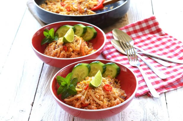 Laksa Fried Rice