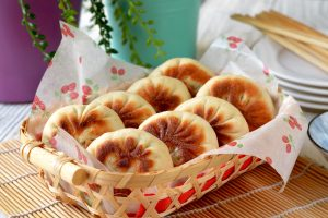 Pan-Fried Beef Buns