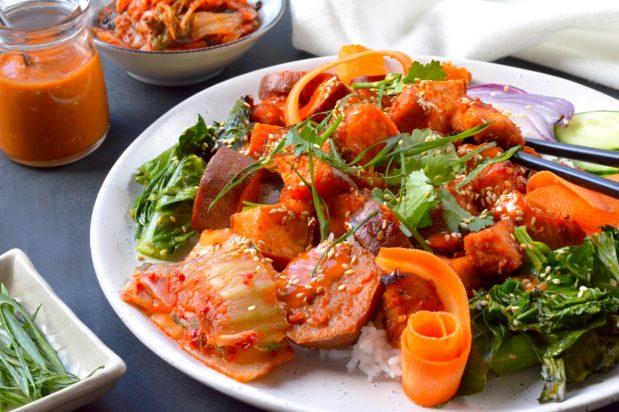 Korean Chicken Bowl